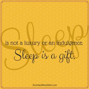 Sleep is a gift of God