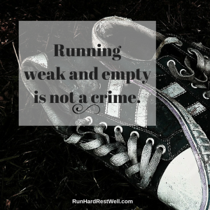 Weak and empty not a crime