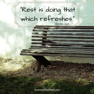rest refreshes