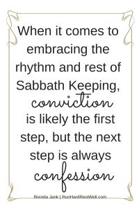conviction - confession